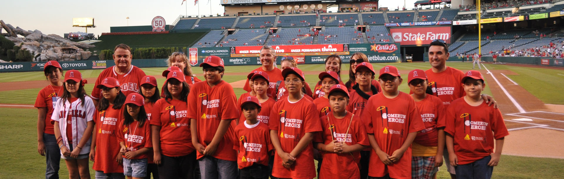 HomeRun Heroes and the Angels